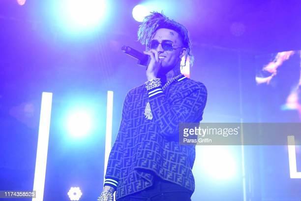 Lil Pump performs onstage during day 1 of REVOLT Summit x ATT Summit on September 12 2019 in Atlanta Georgia