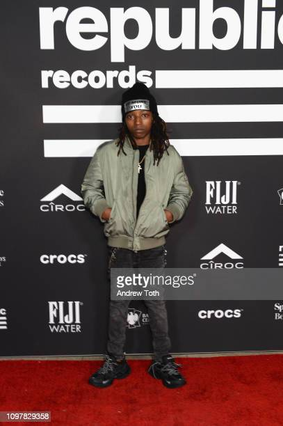 Lil Reek attends Republic Records Grammy after party at Spring Place Beverly Hills on February 10 2019 in Beverly Hills California
