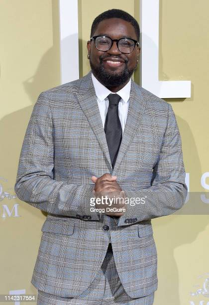Lil Rel Howery arrives at the Premiere Of MGM's The Hustle at ArcLight Cinerama Dome on May 8 2019 in Hollywood California