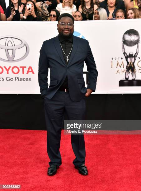 Lil Rel Howery attends the 49th NAACP Image Awards at Pasadena Civic Auditorium on January 15, 2018 in Pasadena, California.
