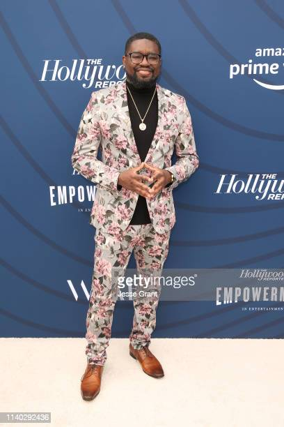 Lil Rel Howery attends The Hollywood Reporter's Empowerment In Entertainment Event 2019 at Milk Studios on April 30 2019 in Los Angeles California