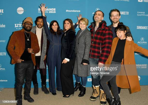 Lil Rel Howery Utkarsh Ambudkar Michaela Watkins Brittany O'Neill Jillian Bell Paul Downs Colaizzo Micah Stock and Alice Lee attend the Brittany Runs...
