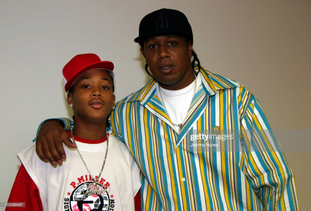 Lil' Romeo and Master P during Lil' Romeo Launches P ...