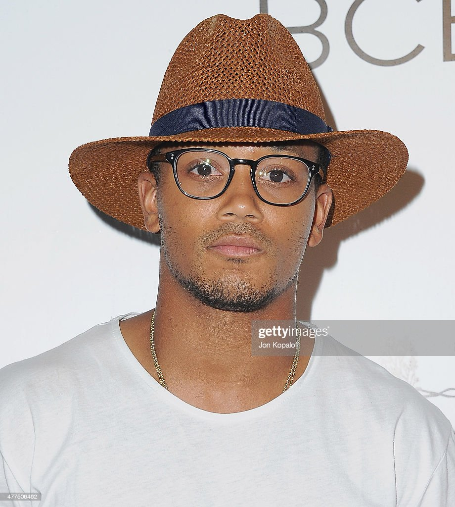 Lil Romeo arrives at NYLON Magazine And BCBGeneration Annual May Young Hollywood Issue Party Hosted By May Cover Star Dakota Fanning at HYDE Sunset: Kitchen + Cocktails on May 7, 2015 in West Hollywood, California.