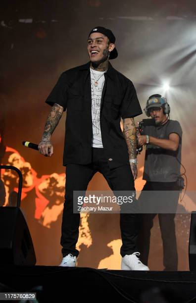 Lil Skies performs onstage during Day 2 of the 2019 Rolling Loud Festival at Citi Field on OCtober 13 2019 in New York City