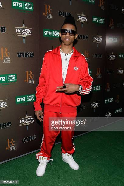 Lil Twist attends the 6th Annual Roots Jam Session at Key Club on January 30 2010 in West Hollywood California
