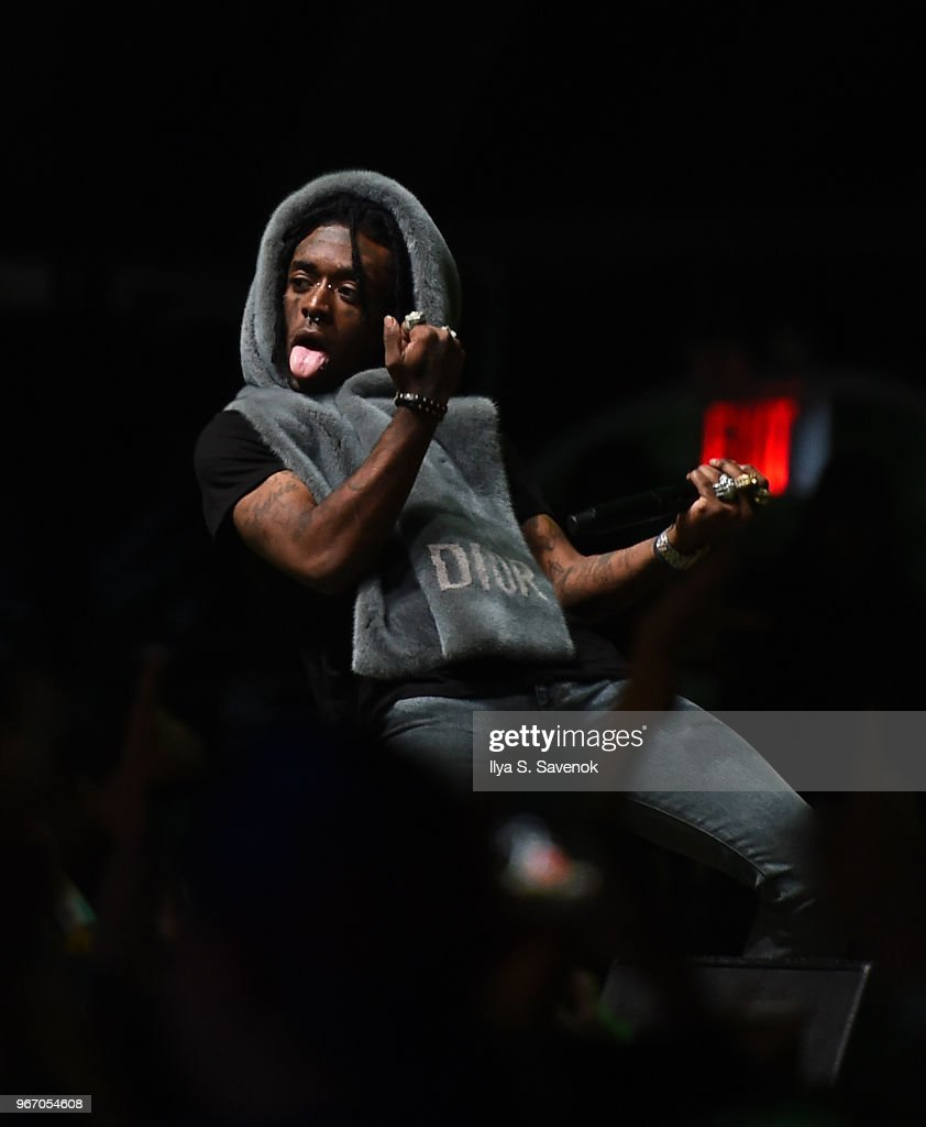 Lil Uzi Vert performs during 2018 Governors Ball Music Festival - Day 3 on June 3, 2018 in New York City.