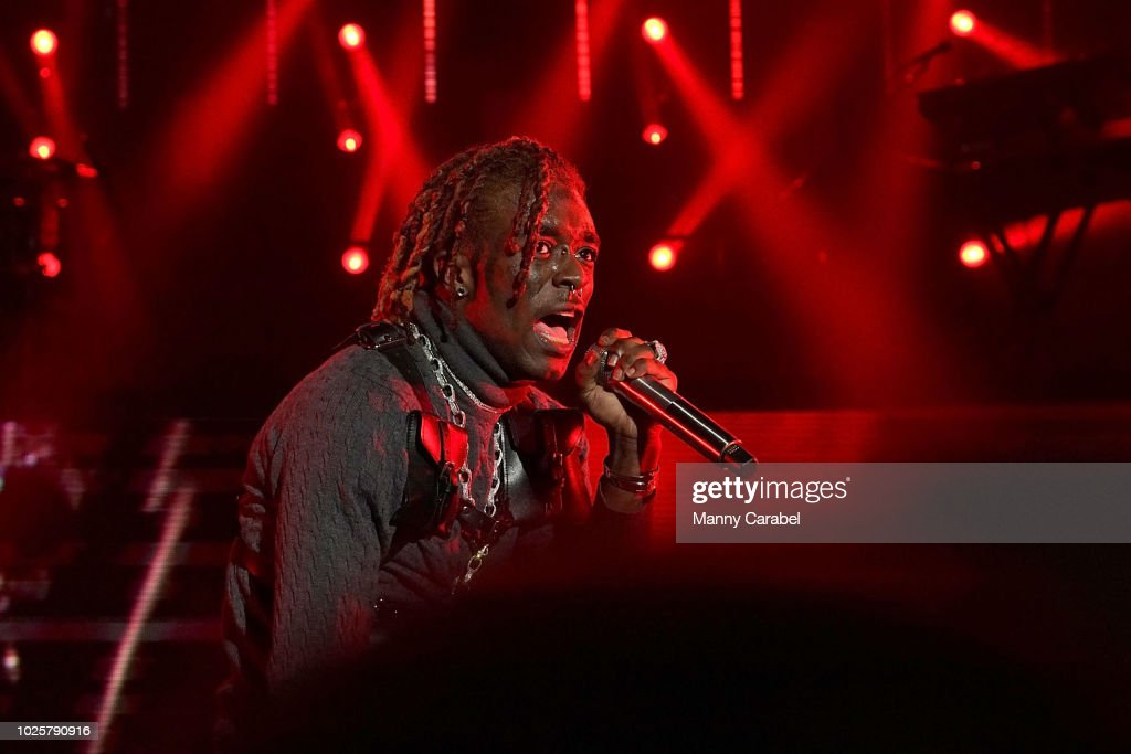 Lil Uzi Vert performs during 'The Endless Summer' tour at
