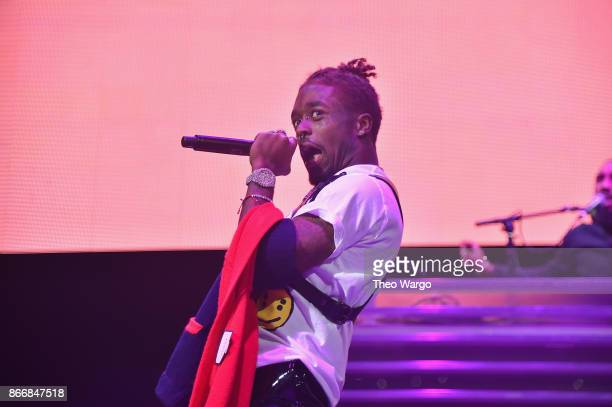 Lil Uzi Vert performs onstage during 1051's Powerhouse 2017 at the Barclays Center on October 26 2017 in the Brooklyn New York City City