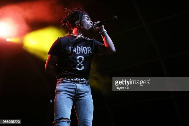 Lil Uzi Vert performs onstage during Day 3 of the 2018 Governors Ball Music Festival at Randall's Island on June 3 2018 in New York City