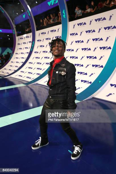 Lil Uzi Vert poses during the 2017 MTV Video Music Awards at The Forum on August 27 2017 in Inglewood California