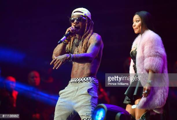 Lil Wayne and Nicki Minaj Perform at the Hot 1079 Birthday Bash at Philips Arena on June 17 2017 in Atlanta Georgia