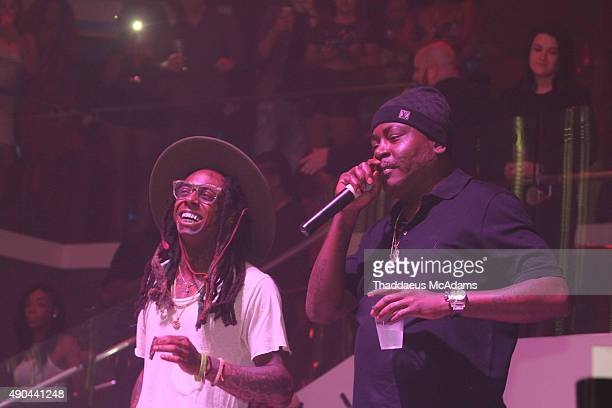 Lil Wayne and Trick Daddy Celebrate there Birthday with a performance at LIV nightclub at Fontainebleau Miami on September 27 2015 in Miami Beach...