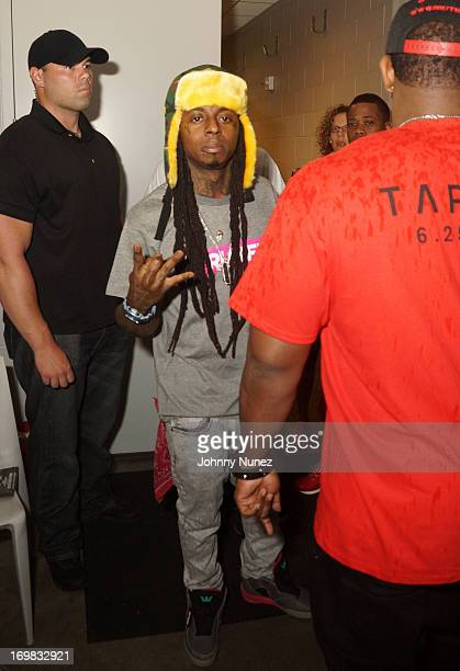 Lil Wayne attends HOT 97 Summer Jam XX at MetLife Stadium on June 2 2013 in East Rutherford New Jersey