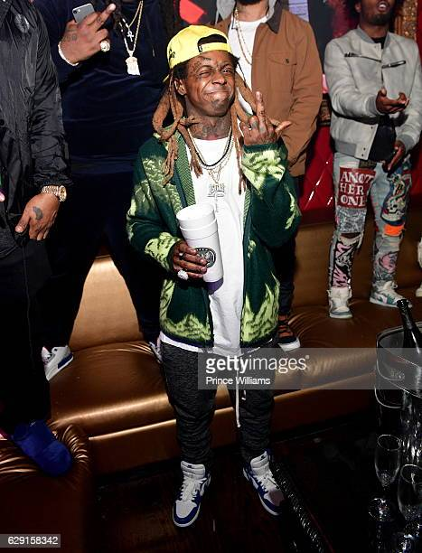 Lil Wayne attends the concert after party Featuring Jeezy Wayne at Compound on December 11 2016 in Atlanta Georgia
