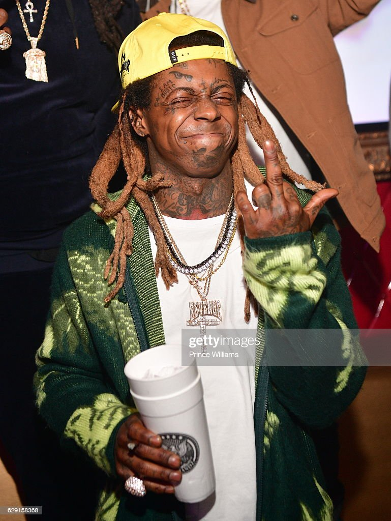 Lil Wayne attends the concert after party Featuring Jeezy + Wayne at Compound on December 11, 2016 in Atlanta, Georgia.