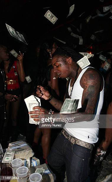 Lil Wayne Attends Worldstarhiphop 6 Year Anniversary At King Of Diamonds On May 27 2011 In