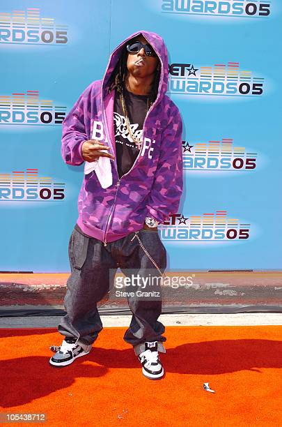 Lil Wayne during 2005 BET Awards - Arrivals at Kodak Theatre in Hollywood, California, United States.
