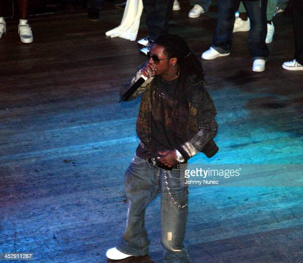Lil Wayne during TI in Concert at The House of Blues Los Angeles June 27 2006 at House of Blues Los Angeles in Los Angeles California United States