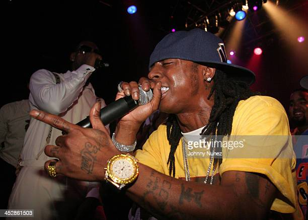 Lil Wayne *Exclusive Coverage* during LeBron James 21st Birthday Party with Performance by Lil' Wayne at House of Blues in Cleveland Ohio United...