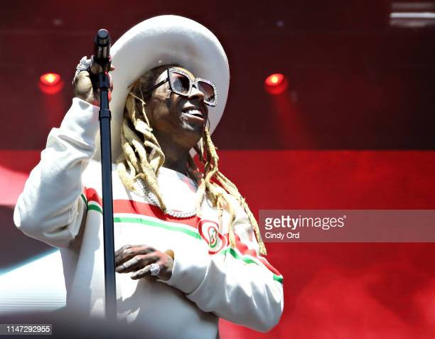 Lil Wayne performs as BACARDÍ presents BACARDÍ Bay at The Governors Ball Music Festival on May 31 2019 in New York City