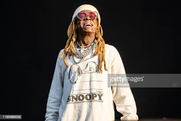 Lil Wayne performs at the Lollapalooza Music Festival at Grant Park on August 03, 2019 in Chicago, Illinois.