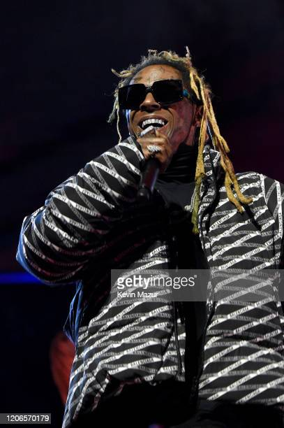 Lil Wayne performs during 2020 State Farm All-Star Saturday Night at United Center on February 15, 2020 in Chicago, Illinois.