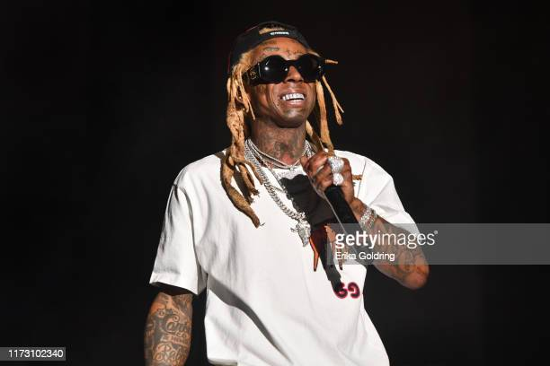 Lil Wayne performs during Lil Weezyana 2019 at UNO Lakefront Arena on September 07, 2019 in New Orleans, Louisiana.