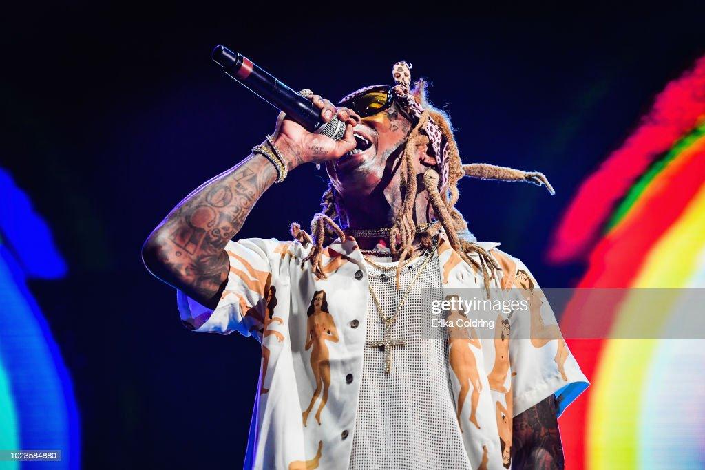 Lil Wayne's Lil WeezyAna Fest : News Photo