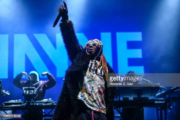 Lil Wayne performs during X Games Aspen 2019 on January 25 2019 in Aspen Colorado