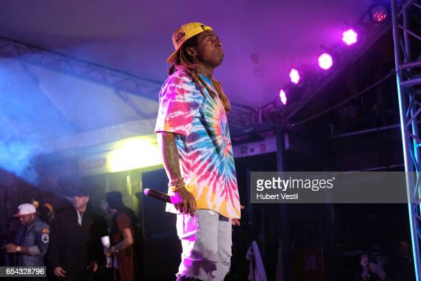 Lil Wayne performs onstage at the Mass Appeal music showcase during 2017 SXSW Conference and Festivals at Stubbs on March 16 2017 in Austin Texas