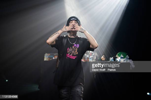 Lil Xan performs at Le Bataclan on March 16 2019 in Paris France