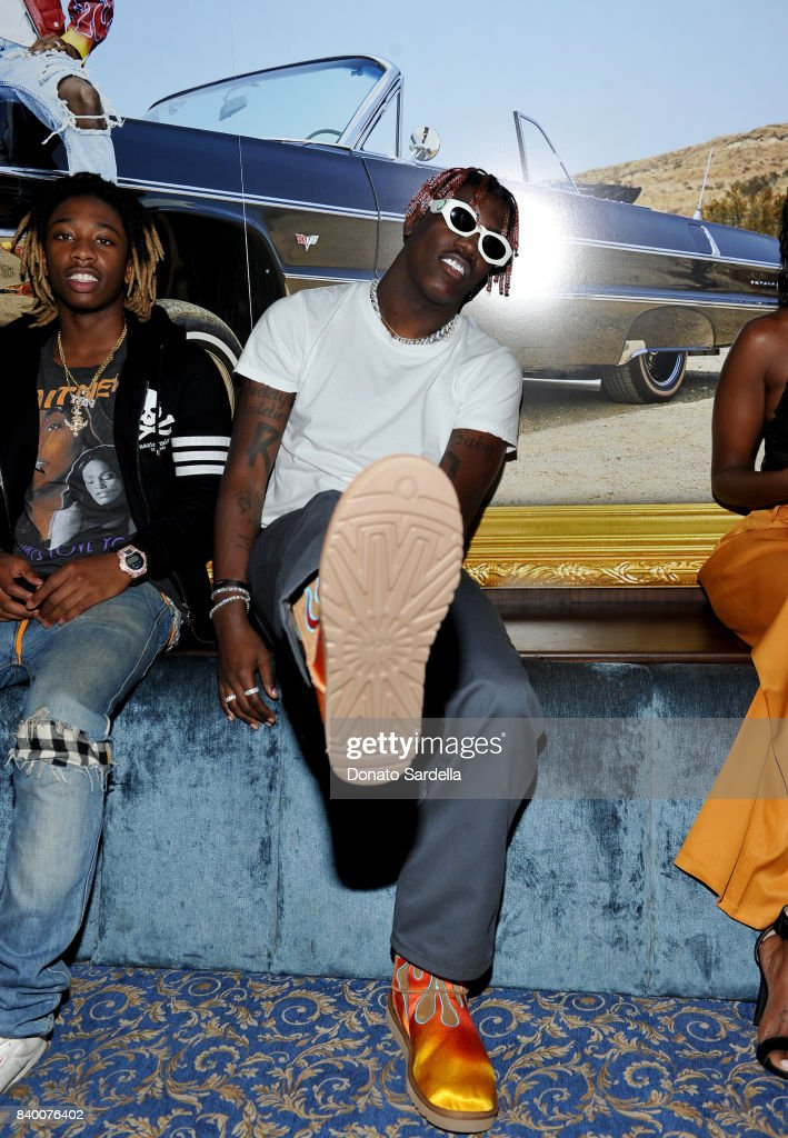 Lil Yachty at UGG x Jeremy Scott Collaboration Launch Event at The h.wood Group's 'Poppy' on August 27, 2017 in West Hollywood, California.