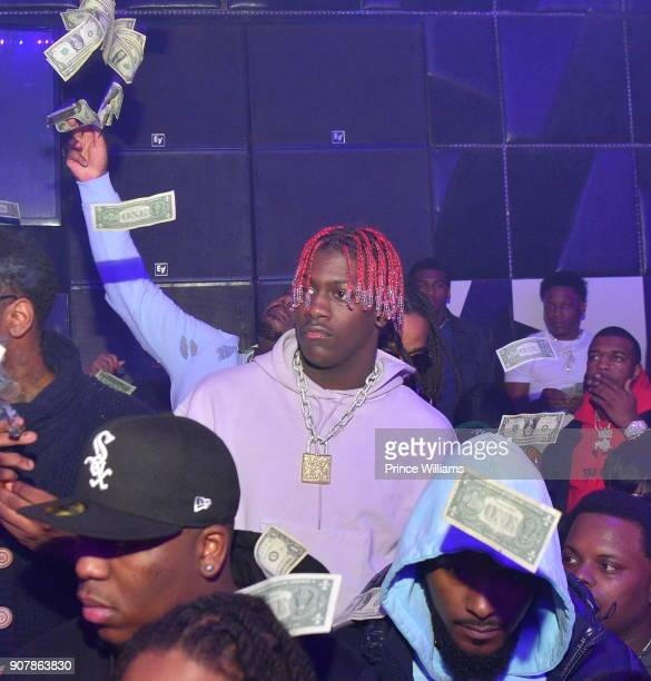 Lil Yachty attends 'No Cap' Tuesday The Biggest Party Of The Year at Gold Room on January 16 2018 in Atlanta Georgia