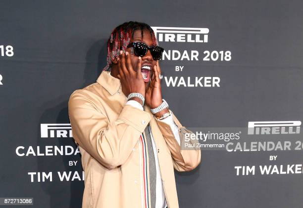 Lil Yachty attends Pirelli Calendar 2018 Launch Gala at The Manhattan Center on November 10 2017 in New York City