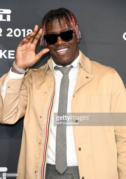 Lil Yachty attends the 2018 Pirelli Calendar Launch Gala at Manhattan Center on November 10 2017 in New York City / AFP PHOTO / ANGELA WEISS
