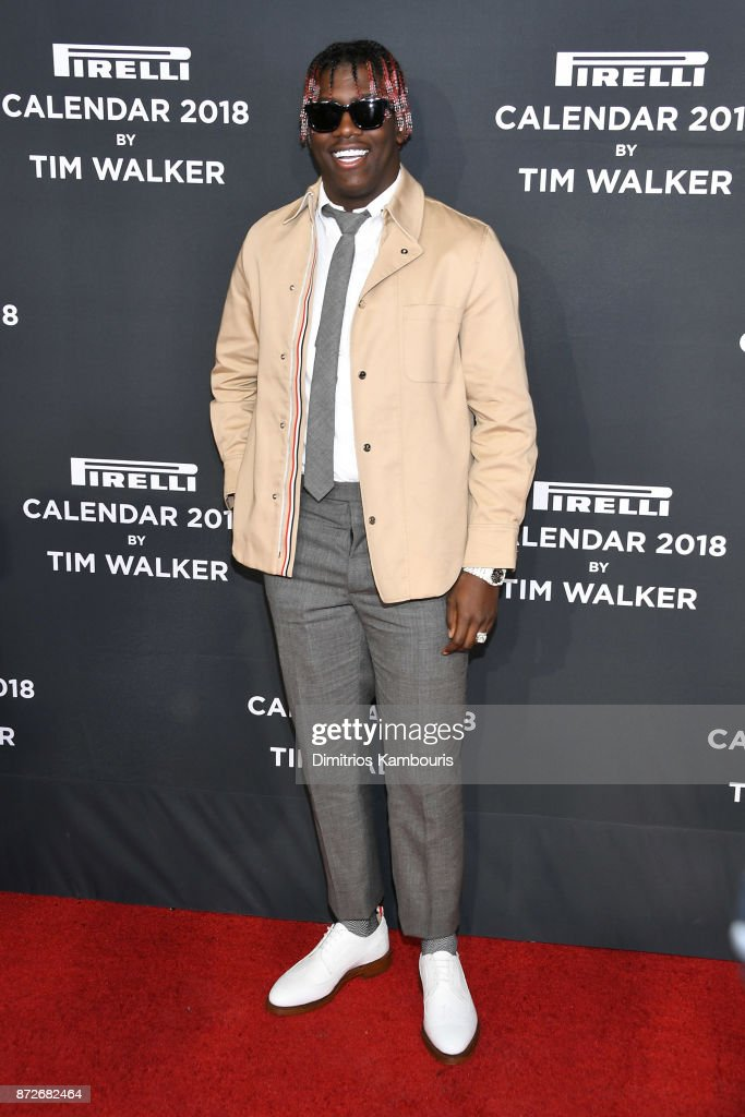 Lil Yachty attends the 2018 Pirelli Calendar Launch Gala at The Pierre Hotel on November 10, 2017 in New York City.