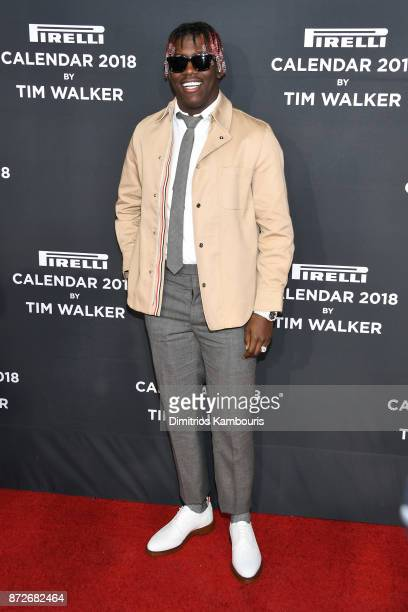 Lil Yachty attends the 2018 Pirelli Calendar Launch Gala at The Pierre Hotel on November 10 2017 in New York City
