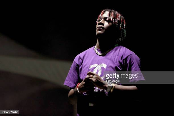 Lil Yachty performs at Echo Stage during day 2 of the 2017 Lost Lake Festival on October 21 2017 in Phoenix Arizona