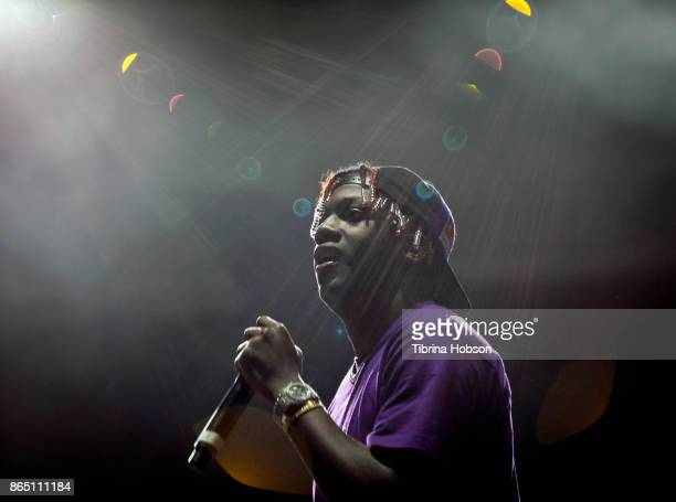 Lil Yachty performs at the Lost Lake Music Festival on October 21 2017 in Phoenix Arizona