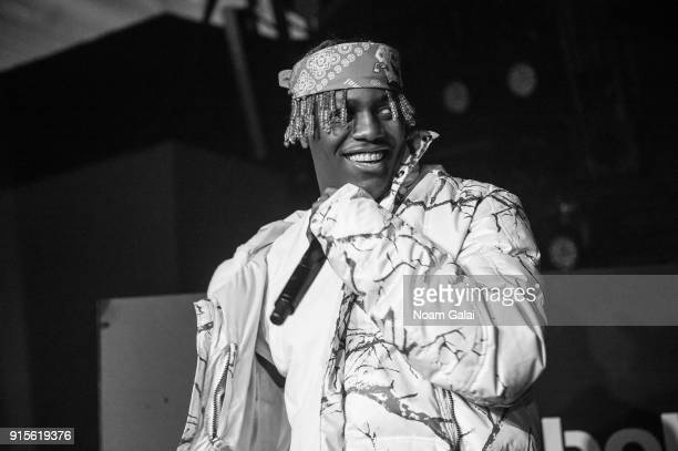 Lil Yachty performs during Reebok's 'Breaking Classic' at Classic Car Club on February 7 2018 in New York City
