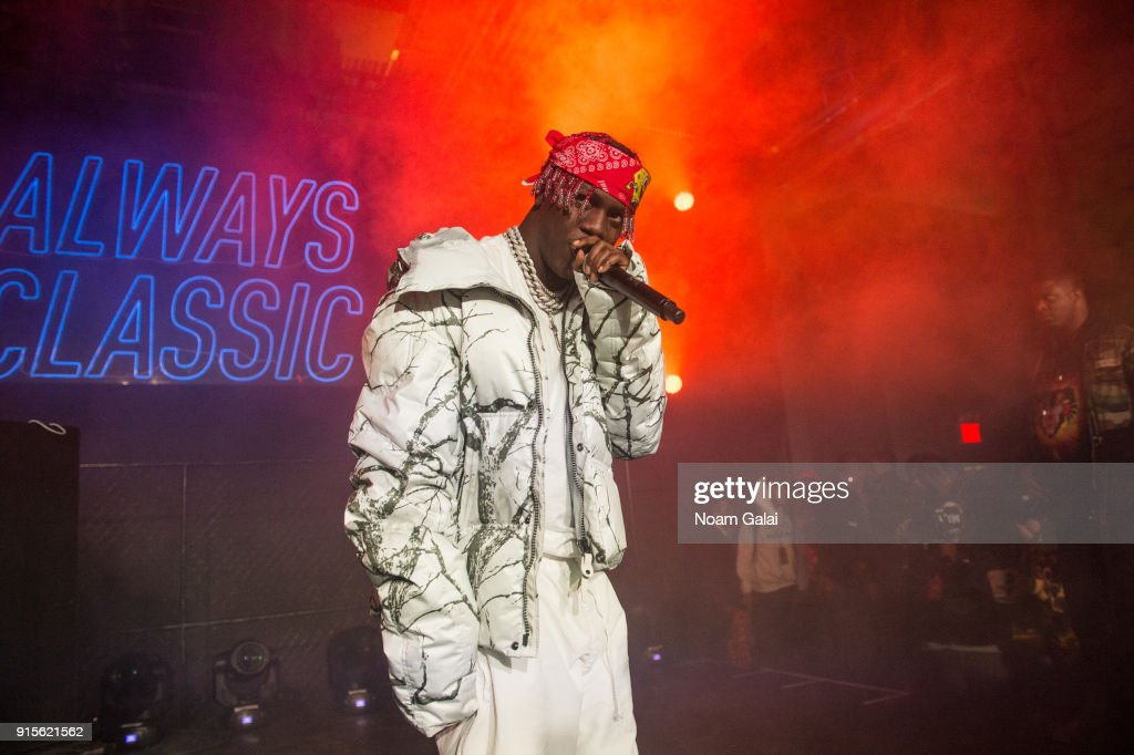 140b4bdddfb Lil Yachty performs during Reebok s  Breaking Classic  at Classic ...