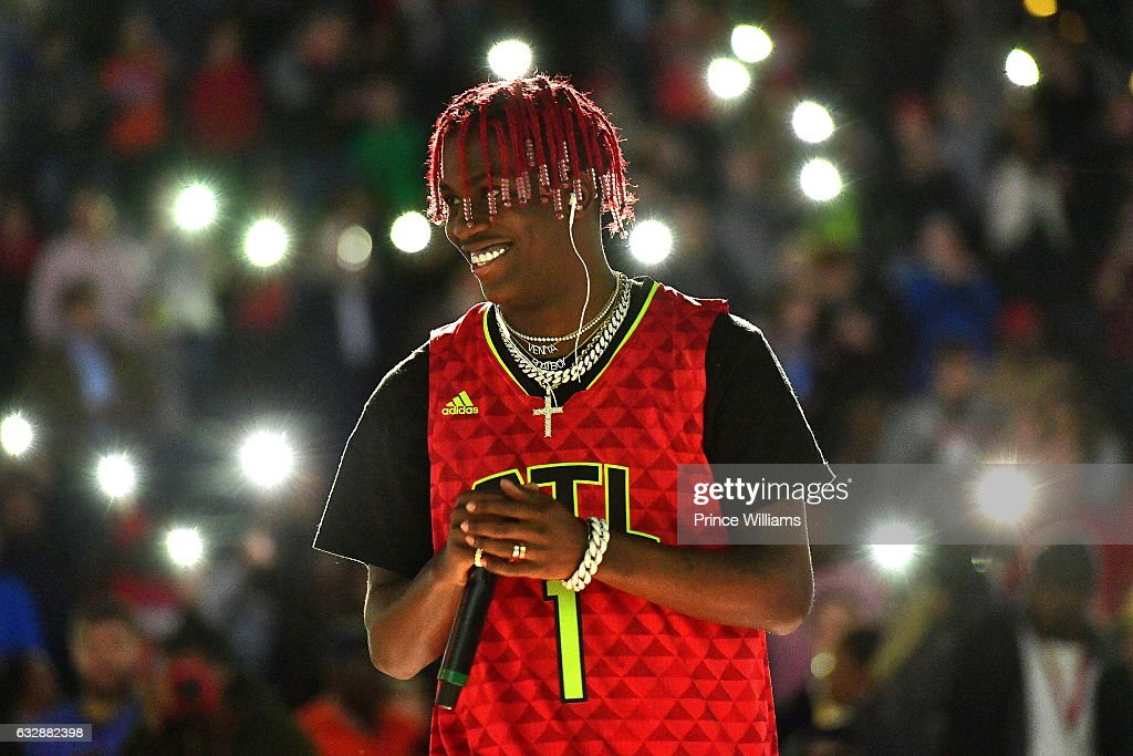 Lil Yachty Halftime Show At The Washington Wizards VS Atlanta Hawks Game