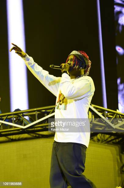 Lil Yachty performs onstage during Bud Light Super Bowl Music Fest / EA SPORTS BOWL at State Farm Arena on January 31 2019 in Atlanta Georgia