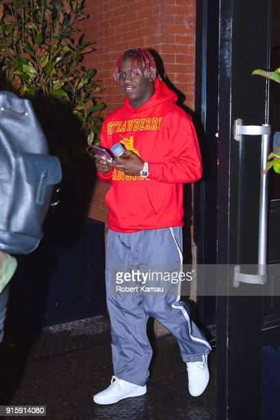 Lil Yachty seen out and about in Manhattan on February 7 2018 in New York City
