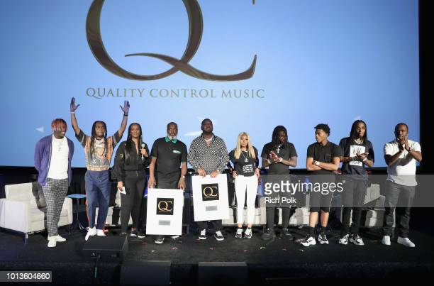 Lil Yachty Takeoff President of Motown Records Ethiopia Habtemariam COO of Quality Control Music Coach K CEO of Quality Control Pee Yung Miami of...