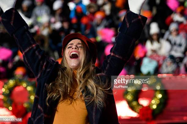 Lila Coogan cast member of the local production of quotAnastasiaquot performs during the live broadcast of the 99th 6ABC/Dunkin' Donuts Annual...