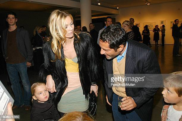 Lila Grace Hack Kate Moss and David Lipman attend KATE MOSS and NIKON Host a Photograph Auction Benefiting The SAM RUBY Charity at Milk Gallery on...