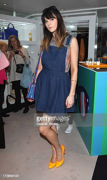 Lila Parsons attends the MCM Craig And Karl Launch Event on July 4 2013 in London England