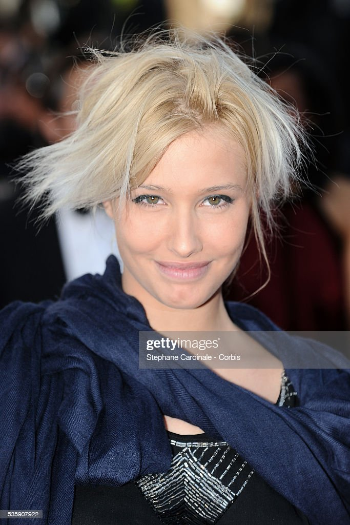 Lila Salet attends the premiere for 'The Exodus - Burnt By The Sun 2' during the 63rd Cannes International Film Festival.